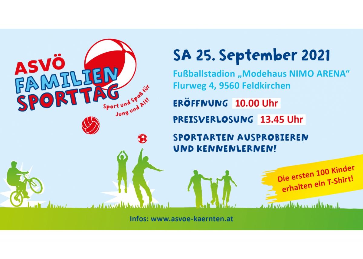 9. ASVÖ Familiensporttag Feldkirchen