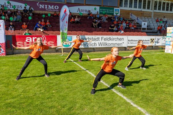 Showeinlage Tanzstudio Inna Dörfler (© Unterberger)